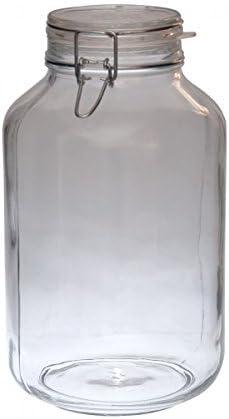 1,5 L Tarro de almacenamiento redondo Bormioli Rocco