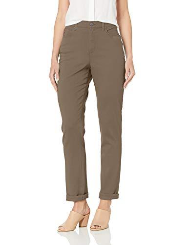 (Gloria Vanderbilt Women's Amanda Classic Tapered Jean, Walnut, 6 Short)