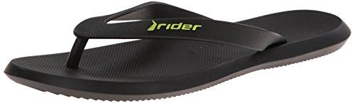 Black Men's Rider R1 Thong Sandal I4wZa1x