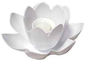 Floating Blossom Swimming Pool Light Single Candle - Assorted (Blossom Floating Candles)
