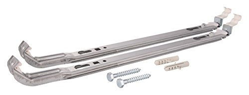 Sanitop-Wingenroth Plus 27515 6 Mounting Kit for Radiators without Flaps 500 mm