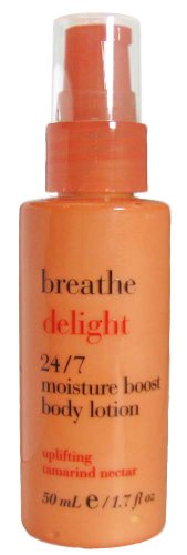(Bath & Body Works Breathe Delight 24/7 Moisture Boost Travel-Size Body Lotion - Uplifting Tamarind Nectar 1.7 oz)