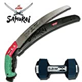 Samurai Ichiban 330MM Pruning Saw & Scabbard and Sawpod Special Combo Deal
