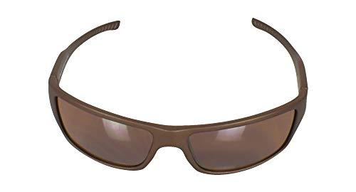 Fila- SF233 Sport Sunglasses Matte Brown Frame/Brown Mirror ()