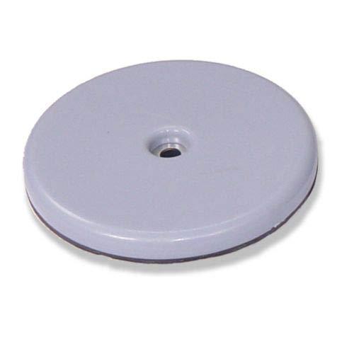 Brinox B77540G Deslizadores para muebles Set de 8 Piezas Di/ámetro 22 mm Gris