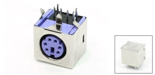 EbuyChX PS / 2 Female Connector Socket Jack Port for Computer Keyboard Mouse