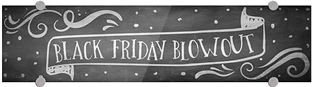 CGSignLab 2464834/_5absw/_16x16/_None Black Friday Sale Stripes Gray Premium Acrylic Sign 16x16