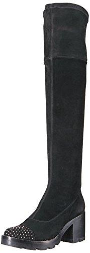 Sigerson Morrison Women's Gemma Over The Knee Boot, Black, 9 Medium US