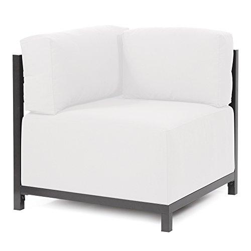 Howard Elliott KQ921T-892 Axis Corner Chair, Titanium Frame, Starboard Natural (Axis Chair)