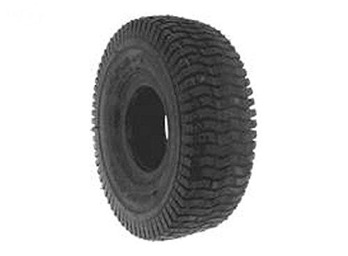 Mr Mower Parts Tire 410X350X4 (4.10X3.50X4) Turf Tread 2 Ply Tubeless Fits Snapper 10820, 23828, 7023828, 7023828YP