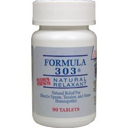 Dee Cee Labs  Formula 303 Pain Relieve Natural Muscle Relaxant, 90 ()