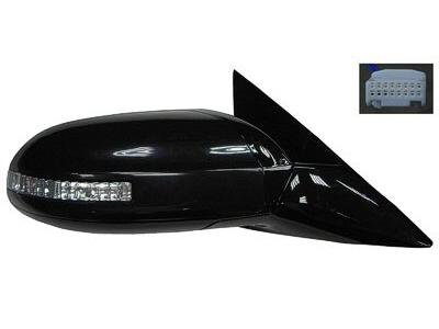 PASSENGER SIDE DOOR MIRROR Fits Nissan Maxima POWER WITH MEMORY; WITH TURN SIGNAL; WITH PREMIUM PACKAGE; WITHOUT SPORT PACKAGE