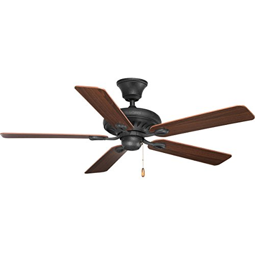 Progress Lighting P2521-80 5 Blade Ceiling Fan, (Progress Lighting 52 Inch Ceiling Fan)
