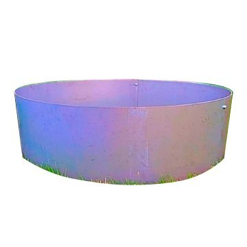Stainless Steel Round Fire Pit Ring Liner- 36''OD x 14'' Deep by Higley Fire Pits