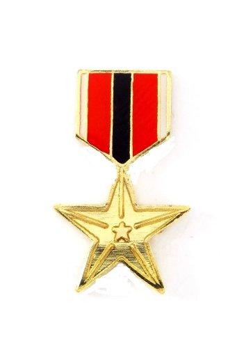 U.S. Air Force Bronze Star Lapel Hat Pin Military PPM 766