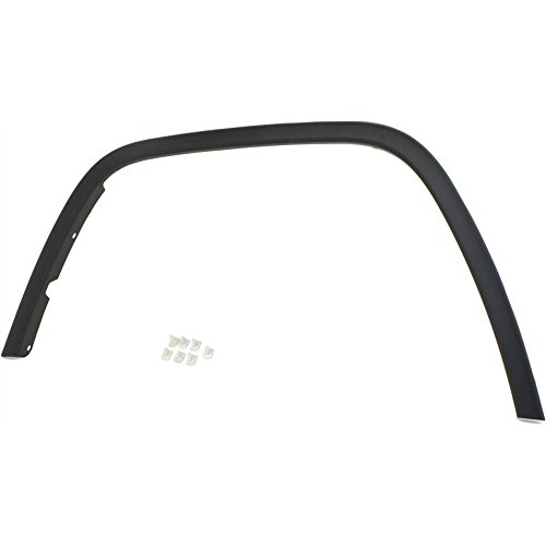 - Fender Flare for 2011-2016 Jeep Grand Cherokee Front Left Side Plastic Black
