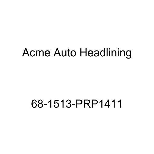 Acme Auto Headlining 68-1513-PRP1411 Maroon Replacement Headliner (Pontiac Firebird 2 Door Hardtop 5 Bow)