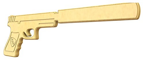 SturdiGuns Kids Silenced Pistol Wooden Toy Gun with Lifetime Guarantee, made in America, Extremely (Spec Ops Costumes)