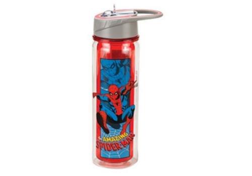 OKSLO Vandor spider-man 18 oz. tritan water bottle double wall insulated ()