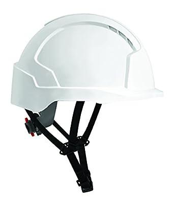 JSP AJD240-000-100 EVOLite Linesman - Casco de trinquete con ventilación, color blanco: Amazon.es: Amazon.es