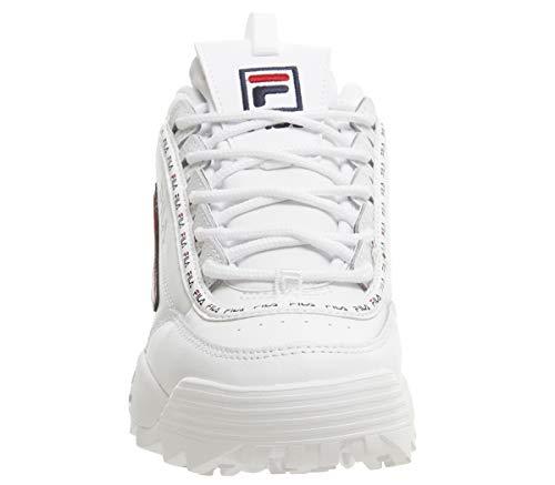Fila Premium Navy Oro Ii Disruptor Donna Rose Metallic Sneaker Red White OqzrBOxY