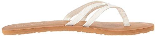 Volcom Women's Crosstown Dress Sandal White 6IWK5gEx5S
