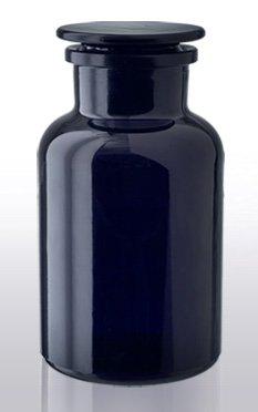 VioLiv 1 Liter Apothecary Jar, Violet Glassware