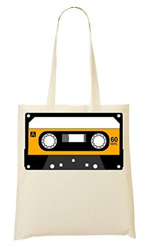 Fourre Tout Minimalistic CP Tape Sac Cassette Sac Provisions Graphic Yellow À Yq6d6w0