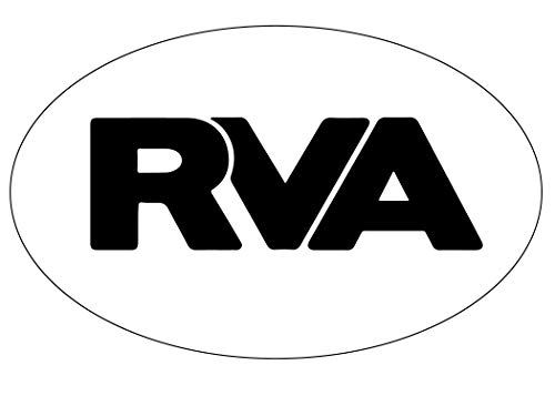 R and R Imports Richmond Virginia RVA Trendy Souvenir Oval Decal (Va Richmond Imports Richmond)