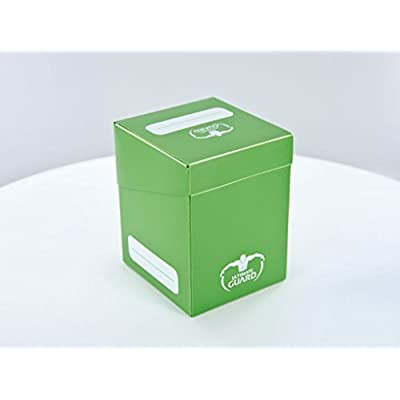 Ultimate Guard Deck Box (100 Cards), Green: Toys & Games