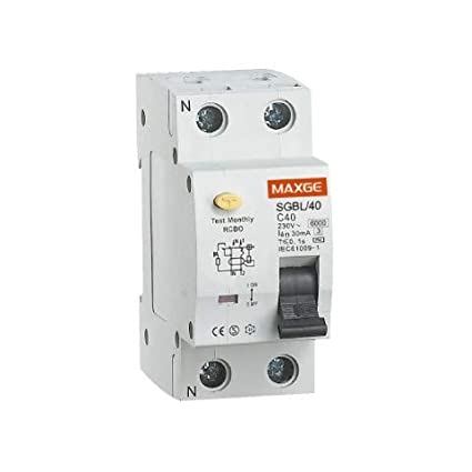 Interruptor Diferencial Residencial 1P+N-30mA-Clase AC-6kA 25 A LEDKIA efectoLED