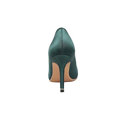 Green Femme Sandales Aimint ERR00081 Vert 36 Compensées EU 5 xtXXrPq