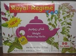 Royal Regime Weight Loss Diet Slimming 50 Tea Bags (pack of 4)