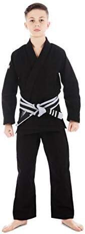 Tatami Black Roots Ju Jitsu Kids BJJ Gi Suit With Free White Belt