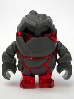 Rock Monster Meltrox (Trans-Red) - LEGO Power Miners 1 3/8