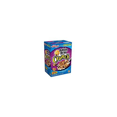 Kellogg's Raisin Bran Crunch, Breakfast Cereal, Original, Good Source of Fiber, 43.3 oz Box ()