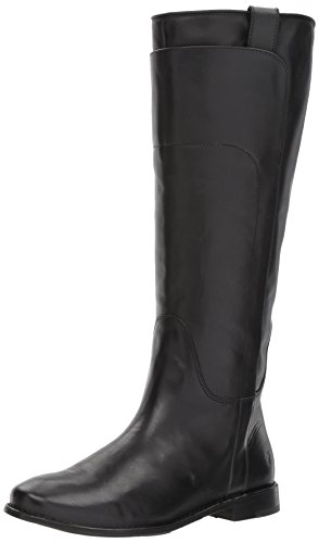 FRYE Women's Paige Tall Riding Boot, Black, 8.5 M US