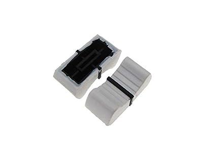 Knob Cap for 8mm shaft Slide Pot Potentiometer 25x11mm Pack of 5 Yellow