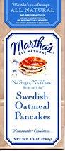 (Organic No Wheat No Sugar, Swedish Oatmeal Pancake Mix,)