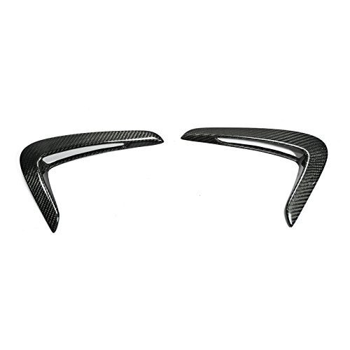 (Carbon Fiber For BMW F32 F33 F36 M4 Front Fender Side Grille Cover Air Duct Vents Inserts)