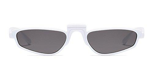 TIJN Fashion Small Narrow Square Frame Mini Sunglasses For - Small Faces Narrow Sunglasses For