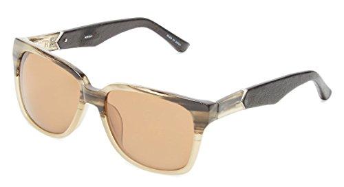 The Row x Linda Farrow Leather & Acetate 20 C4 (Wayfarer) - Sunglasses Row Sale The