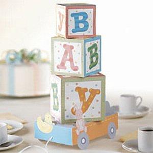 baby shower centerpiece ideas - 2