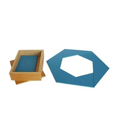 Montessori Constructive Blue Triangles: Toys & Games