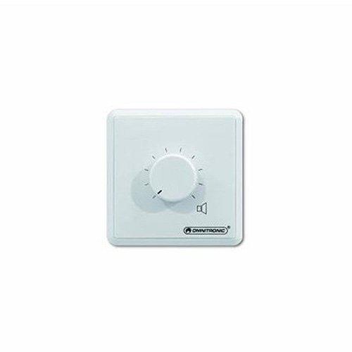 Omnitronic 80711153 ELA Stereo LS-Regler (20 Watt) weiß