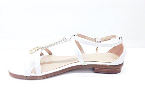 Gattinoni - Sandalias de vestir de charol para mujer White (bianco)