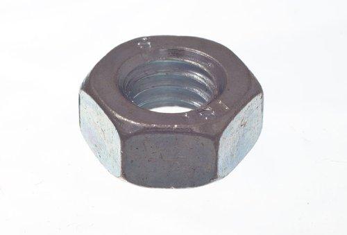/Écrous /à t/ête hexagonale de 6 mm M6 BZP en acier zingu/é Pack Of 4