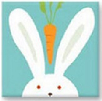 easter bunny cartoon animal cross stitch kits for kids precision no count easy