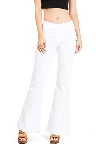 C'est TOI Women's Juniors Mid Rise Bell Bottom Denim for sale  Delivered anywhere in USA