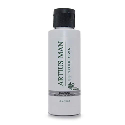 Black Coffee Beard Conditioner with Sea Kelp - by Artius Man (Scented Cup Beauty American)